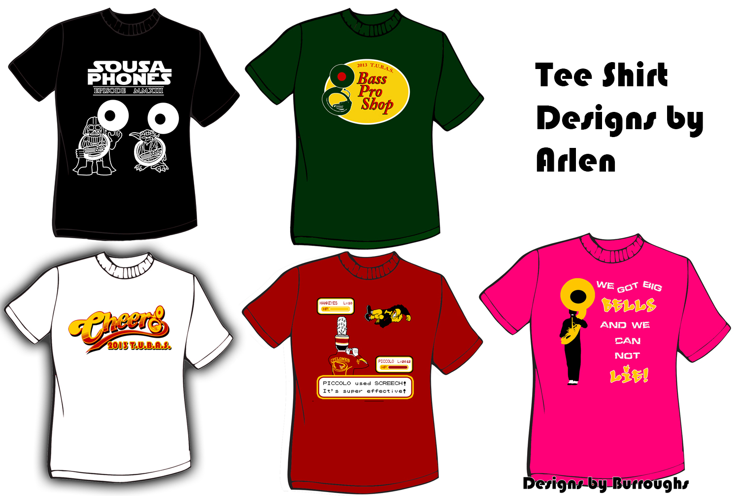 Shirt design examples -  Design T Shirts And Even For Use With Software Development Click Links For Examples Of My Work